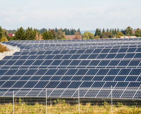 Photovoltaik Solaranlage – Bürgerbeteiligungsanlage Erddeponie Peterzell